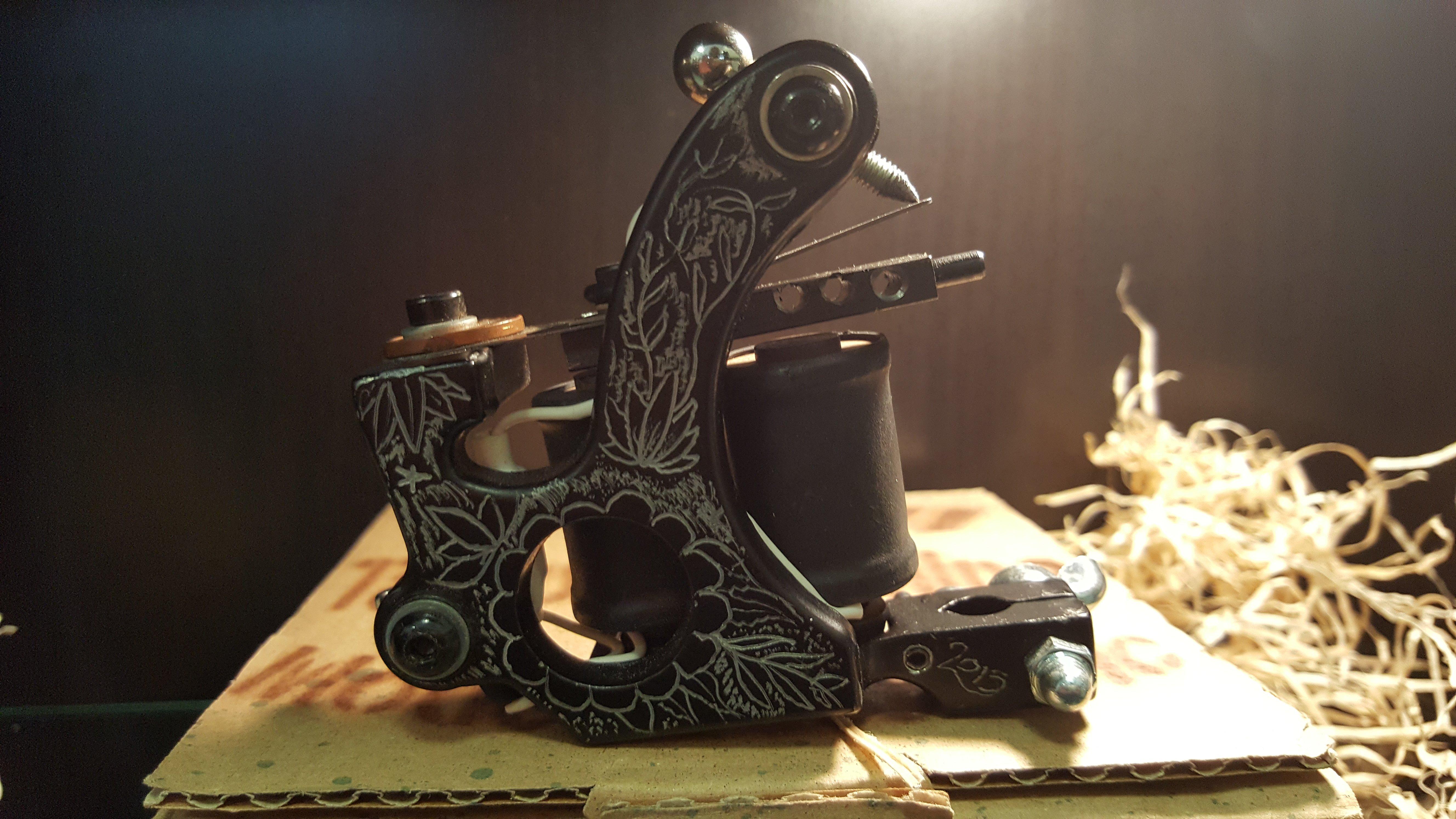 macchinette artigianali per tatuaggi