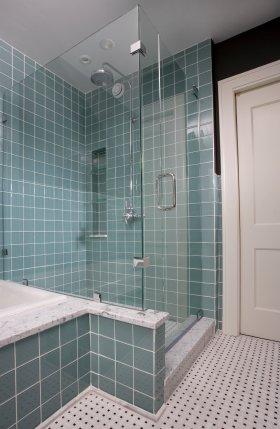 glass frameless shower
