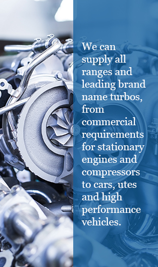 supply all ranges brands name turbos