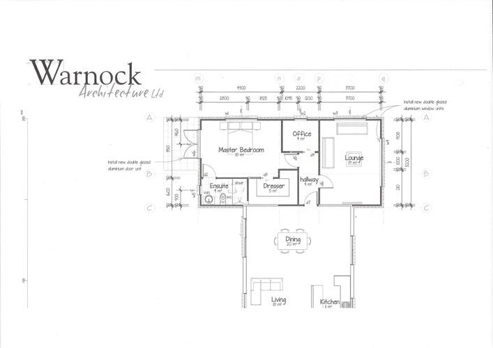 Architecture map of house