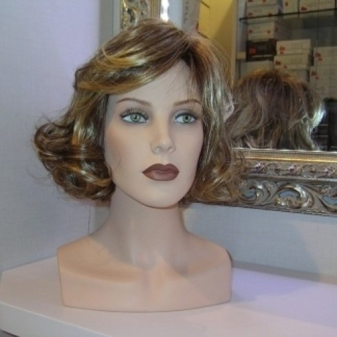 parrucche di capelli sintetici, parrucche su misura