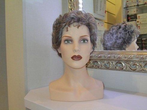parrucche di capelli naturali, code per acconciature