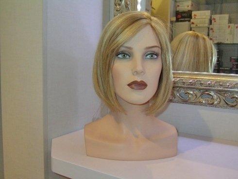 parrucca liscia, parrucca