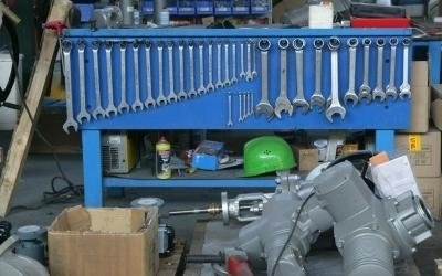 industrial valves assembly