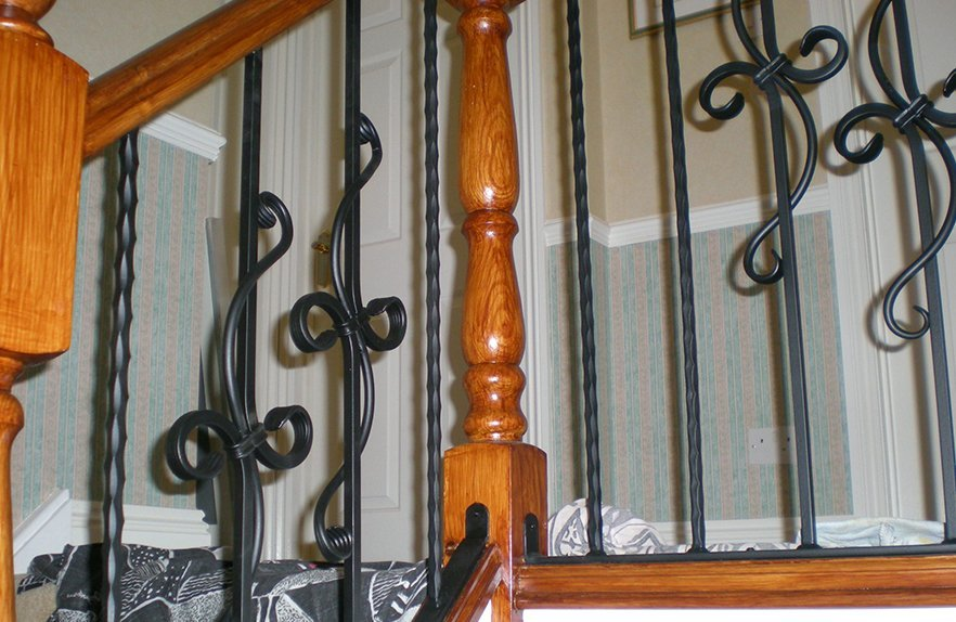 Railings for staircases