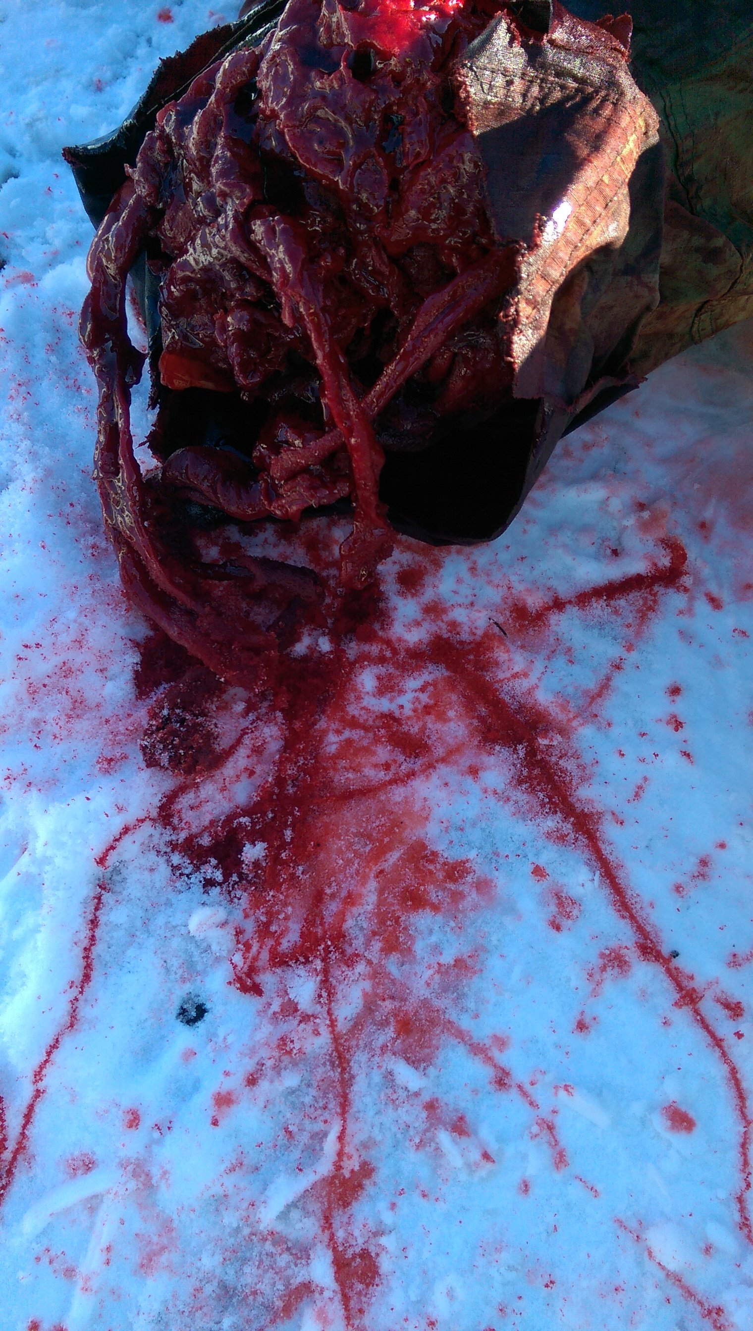 special effects of cuts and blood