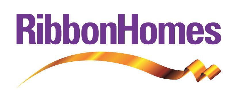 Ribbon homes logo