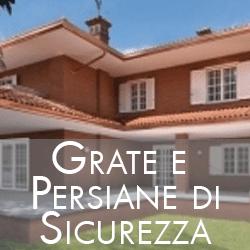 GRATE E PERSIANE DI SICUREZZA
