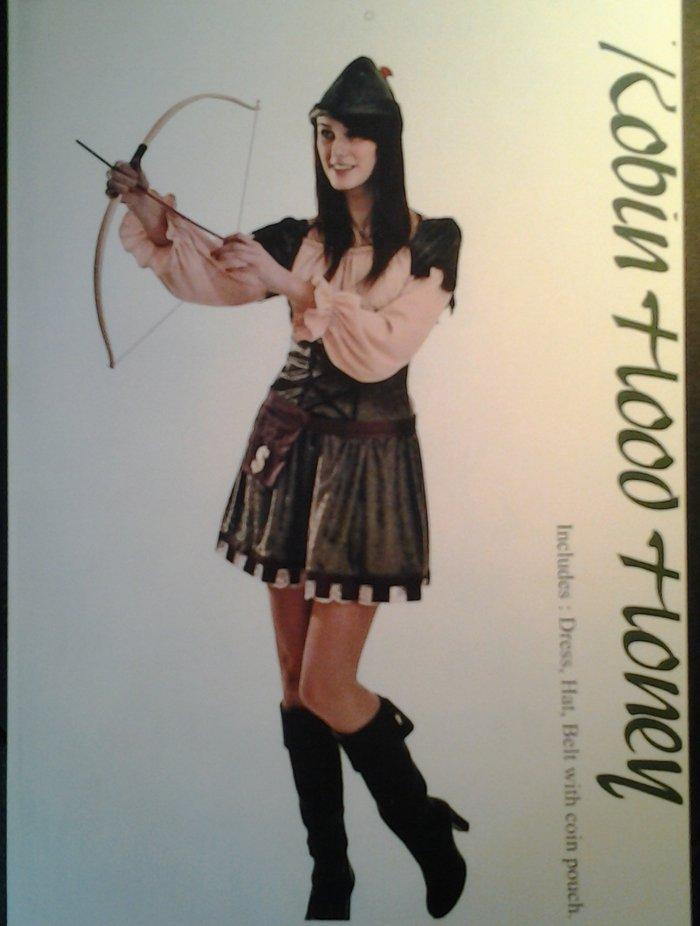 vestito carnevale donna robin wood