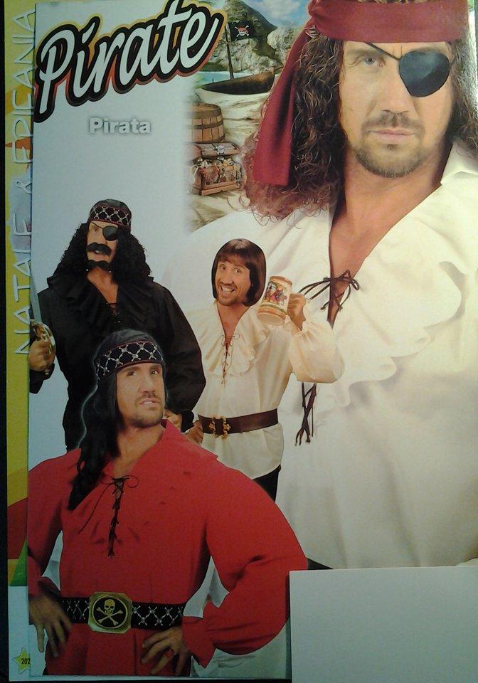 costumi dei film pirati dei caraibi