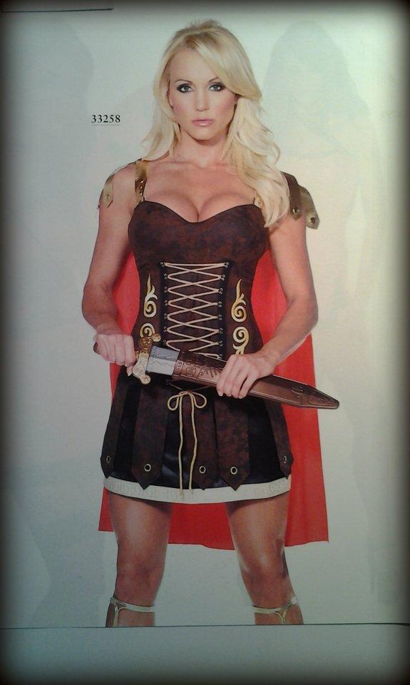 vestito carnevale donna da guerriera