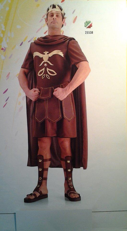 vestito carnevale uomo guerriero