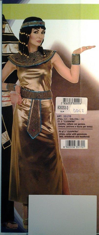 vestito carnevale donna cleopatra
