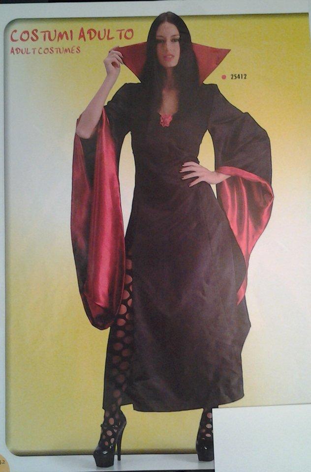 vestito carnevale donna da strega