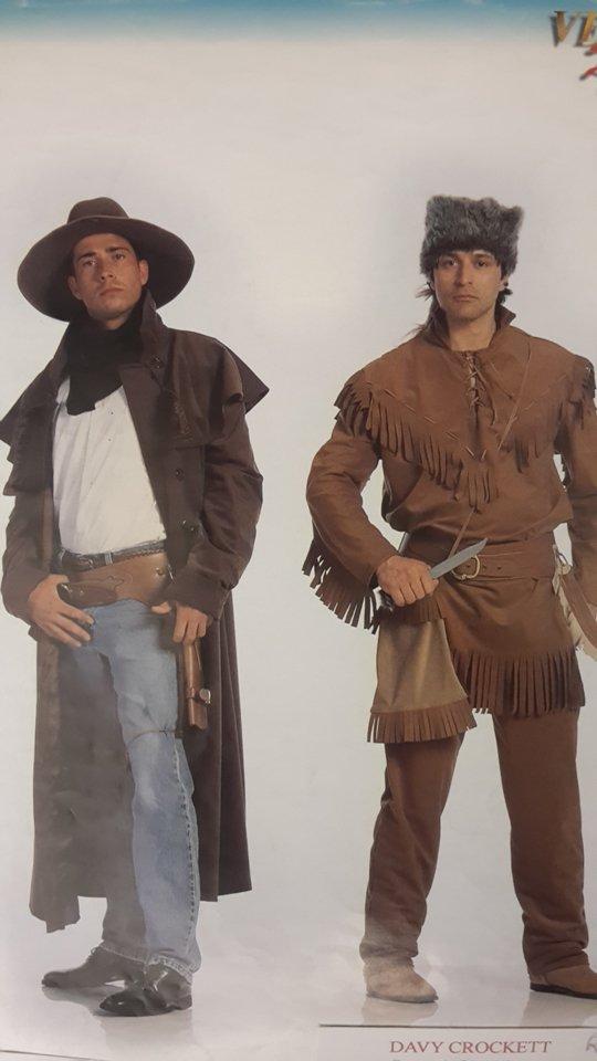 vestito carnevale uomo da texani