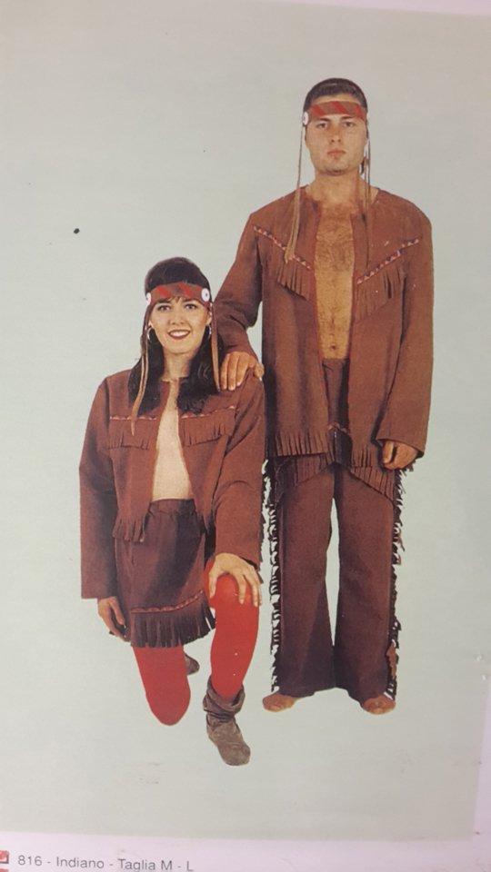 costumi da indiani tribu
