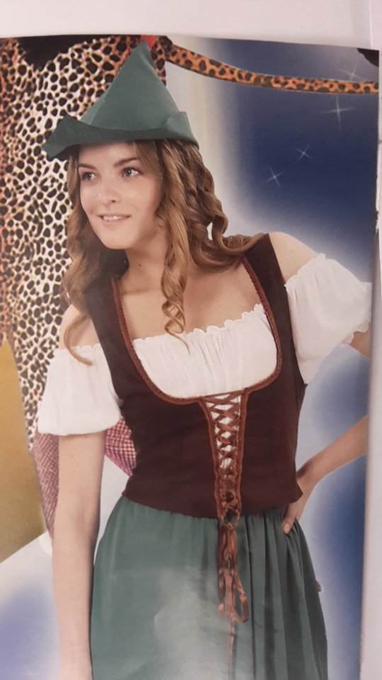 vestito carnevale donna elfo