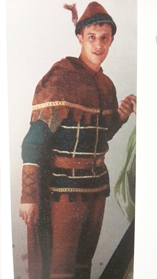 vestito carnevale robin hood