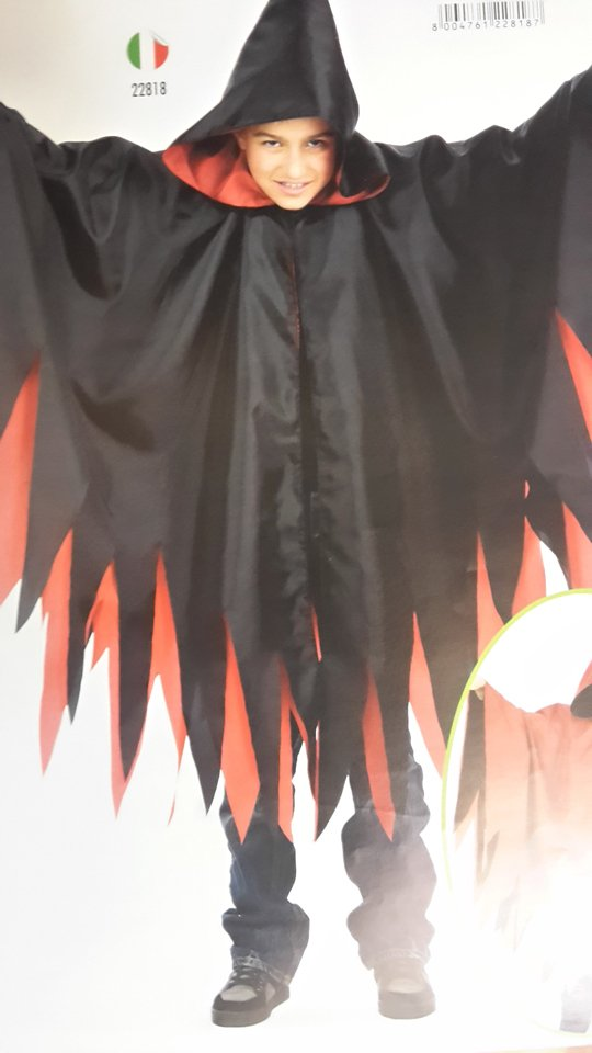costume carnevale  per bambini dracula