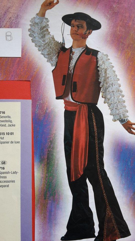 costume carnevale Zorro
