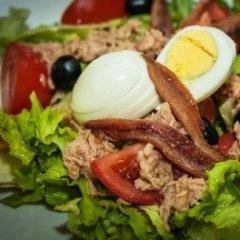 insalata  di pesce e uovo
