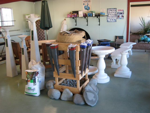 Ornaments and garden supplies sold in Hawkes Bay
