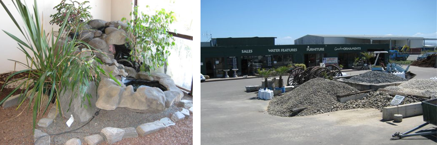 Landscaping supplies and the front of our Hawkes Bay store