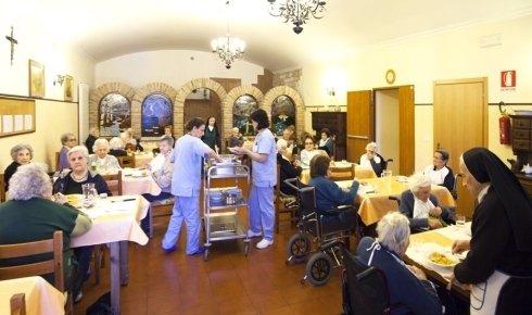 La Casa di riposo per anziani è dotata di un