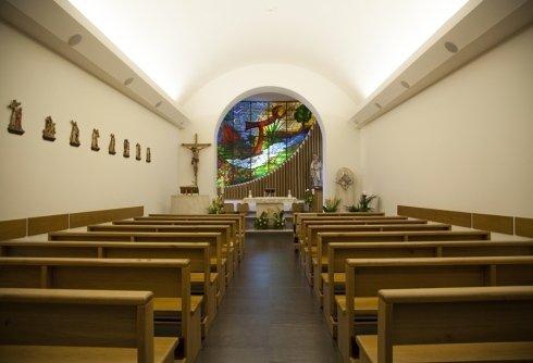 La Csa di Riposo Santa Lucia di Rieti dispone di una Chiesa all
