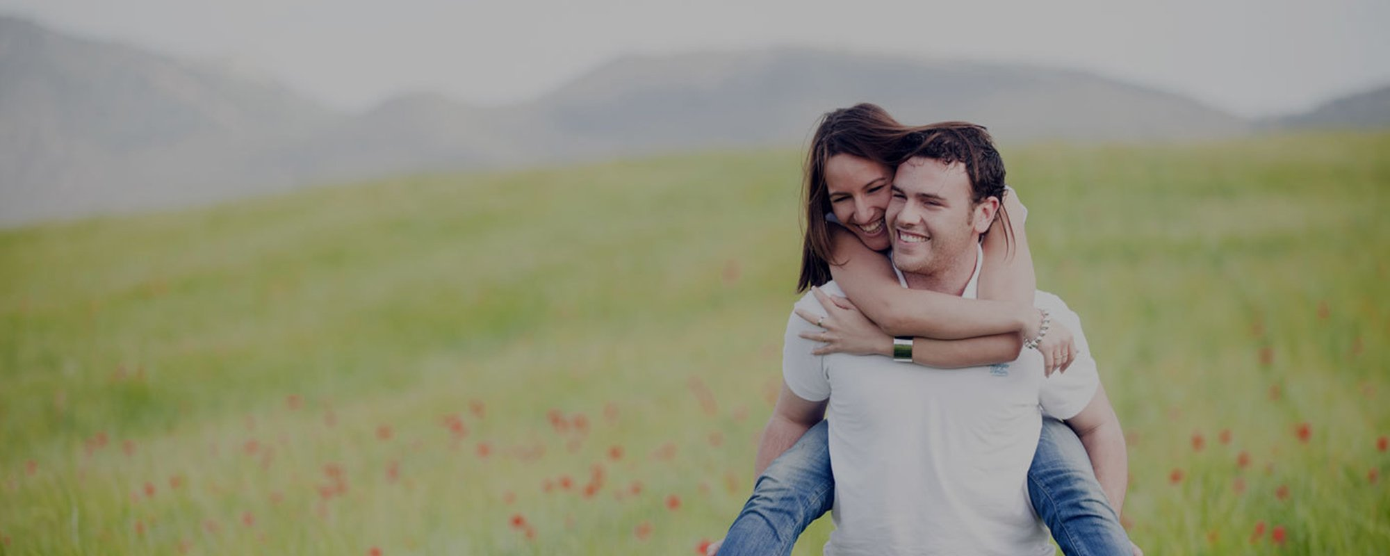 Happy couple enjoying after an advice from experts over loan
