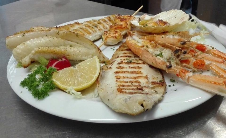 pranzo di pesce per ferragosto