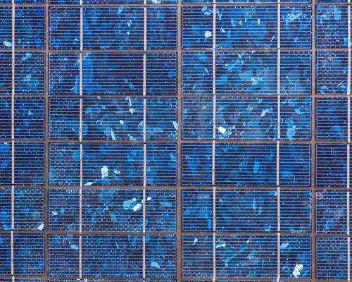 pannello solare visto da vicino