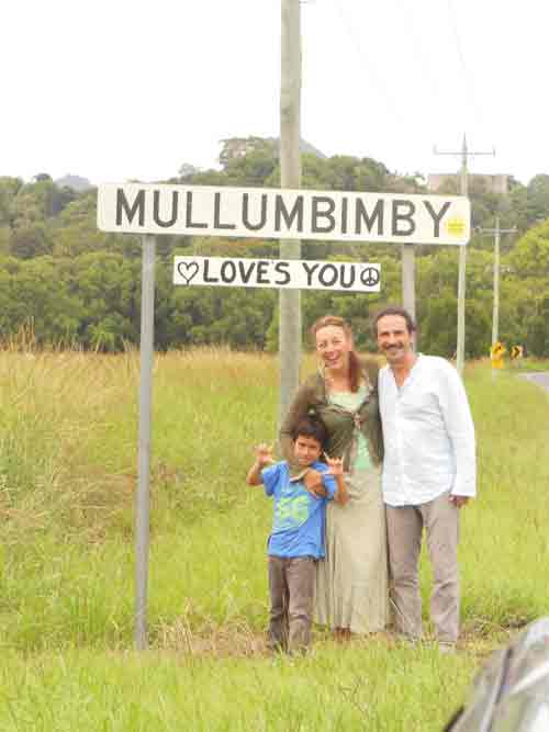 Couple enjoying in Mullumbimby NSW