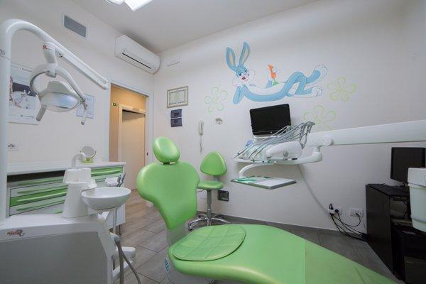 poltrona del dentista per bambini