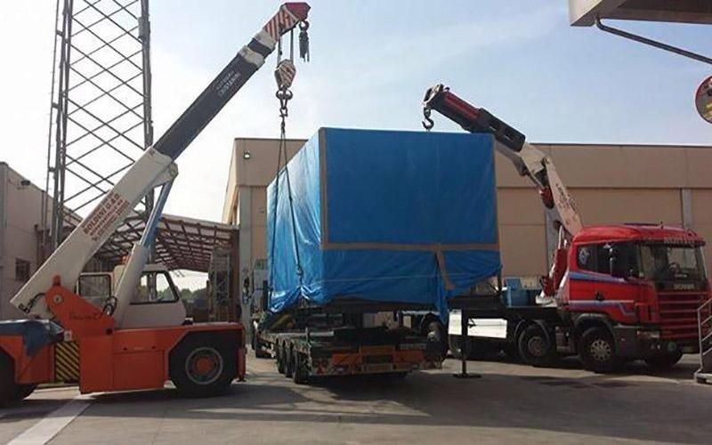 Rimorchio per trasporto merci