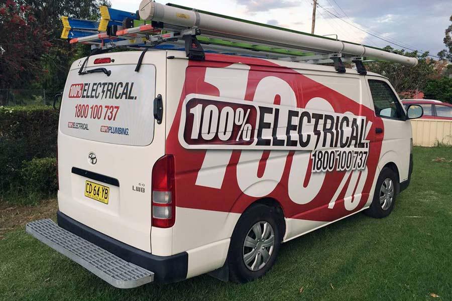 100 percent electrical truck