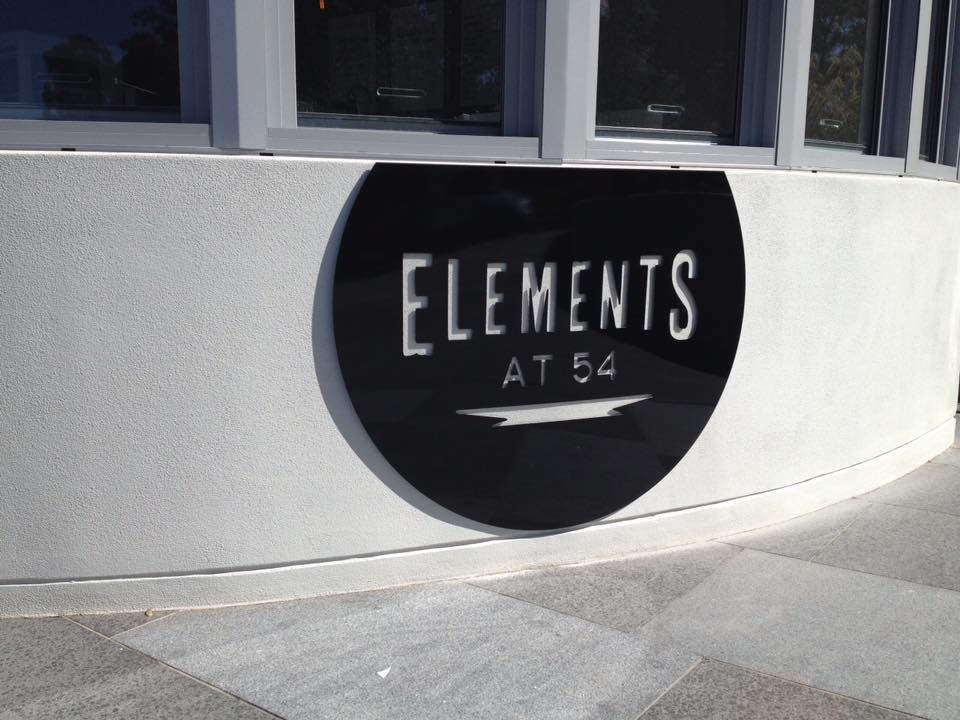 close up of elements sign