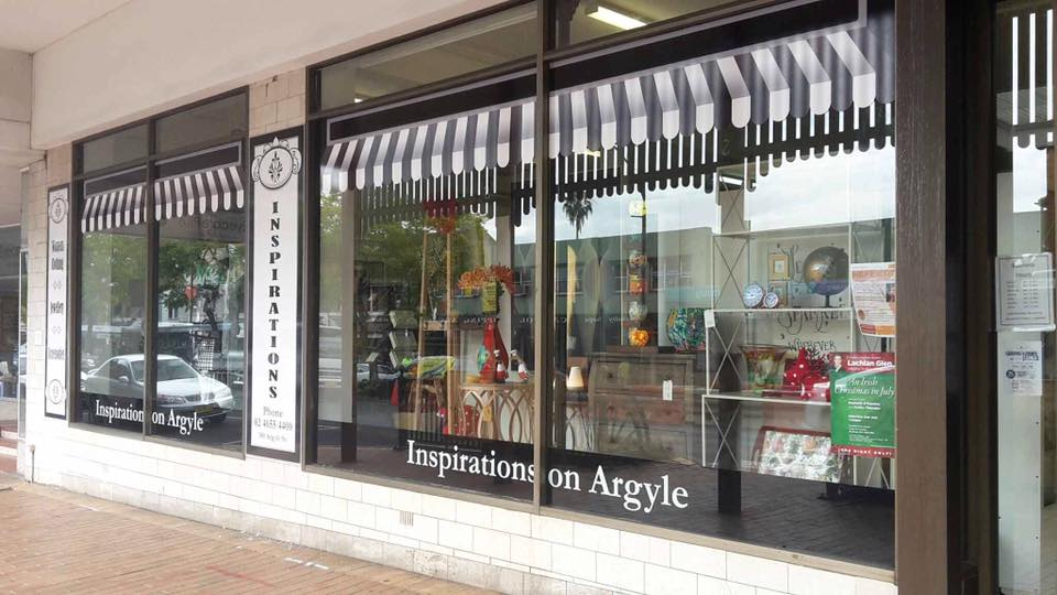 inspirations on argyle store front sign second view