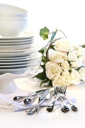 Centro-tavola con rose