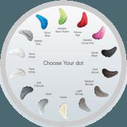 Palette di colori per scegliere un retroauricolare ReSound