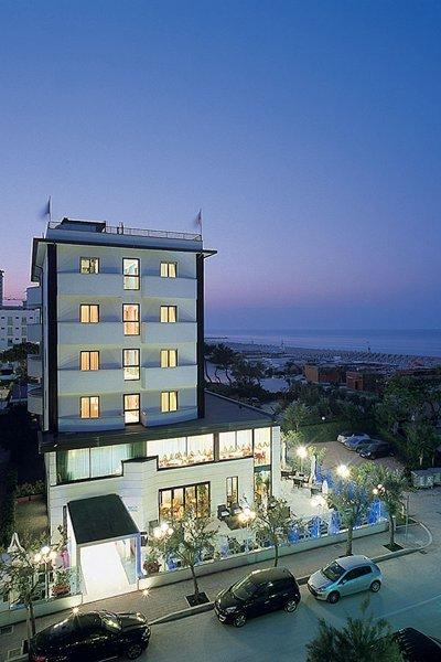 vista da alto di albergo