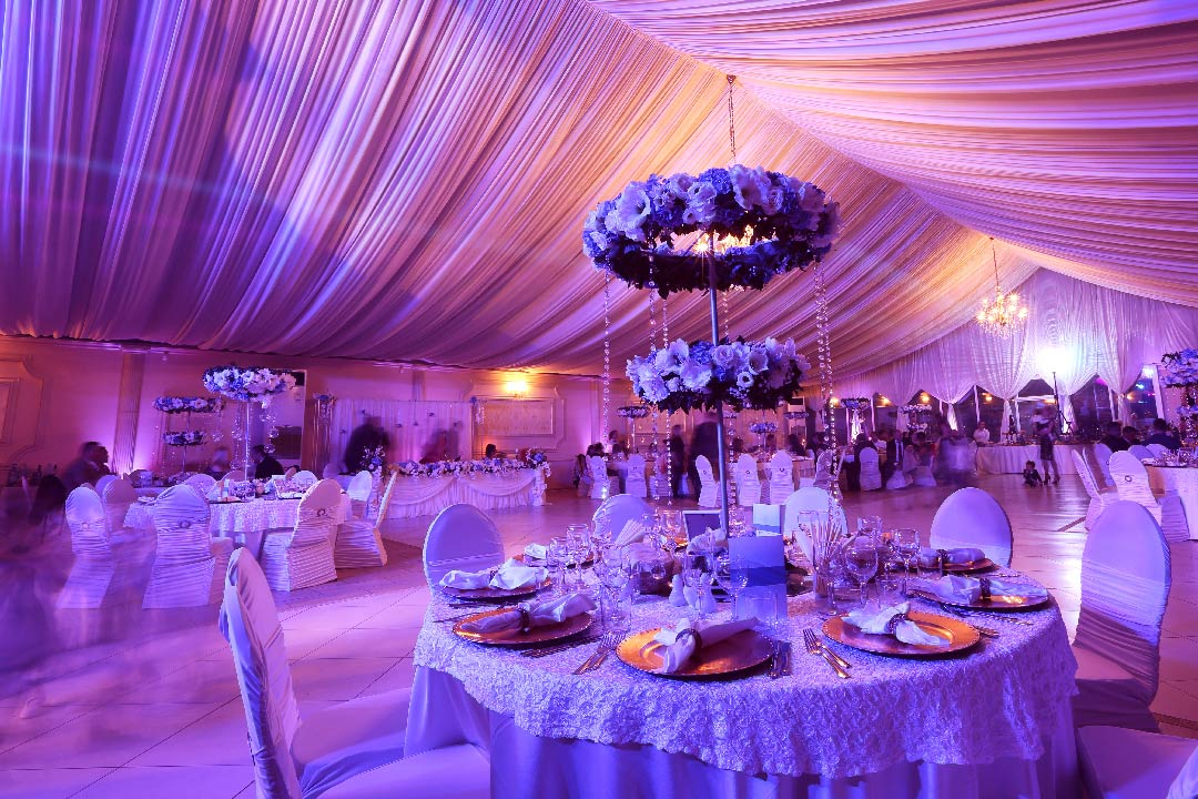 custom tailored event venue