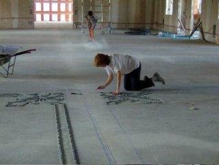 posatori, mosaici, pavimenti in mosaico, pavimentazioni