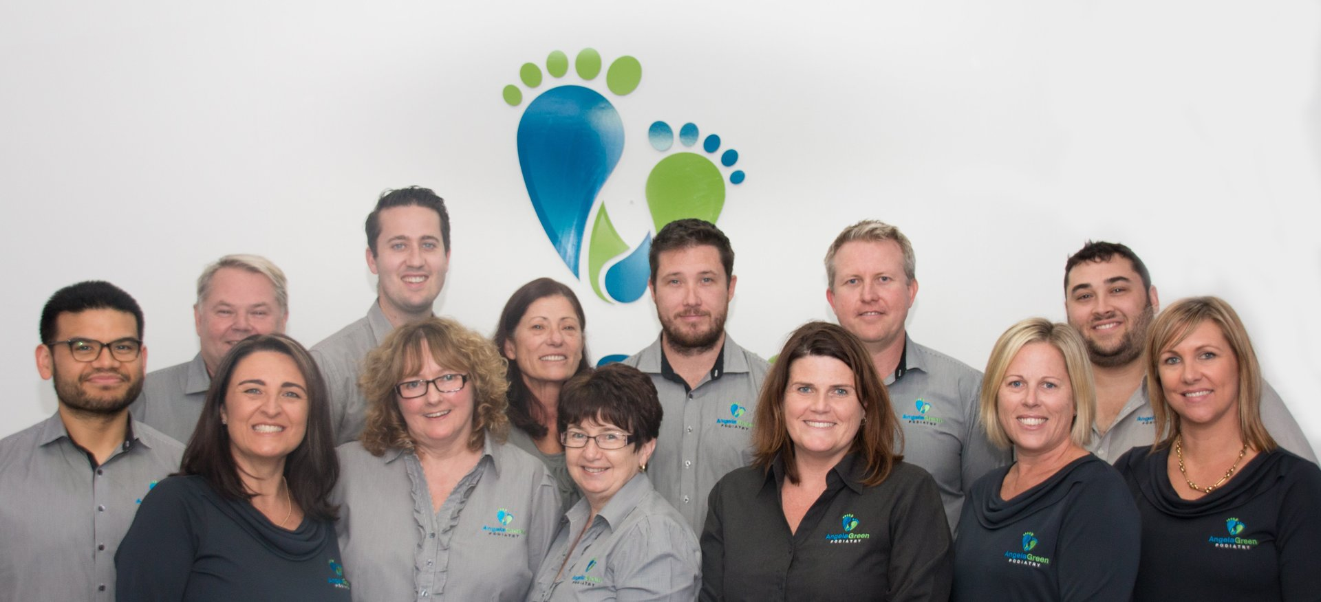 Angela Green Podiatry team