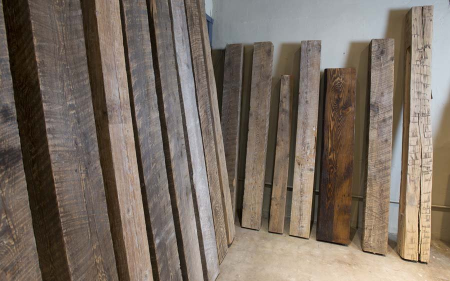 Reclaimed wood beams Nashville, TN
