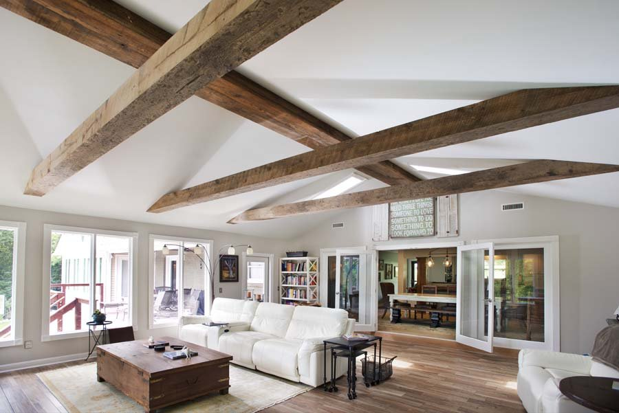 reclaimed wood beams Nashville