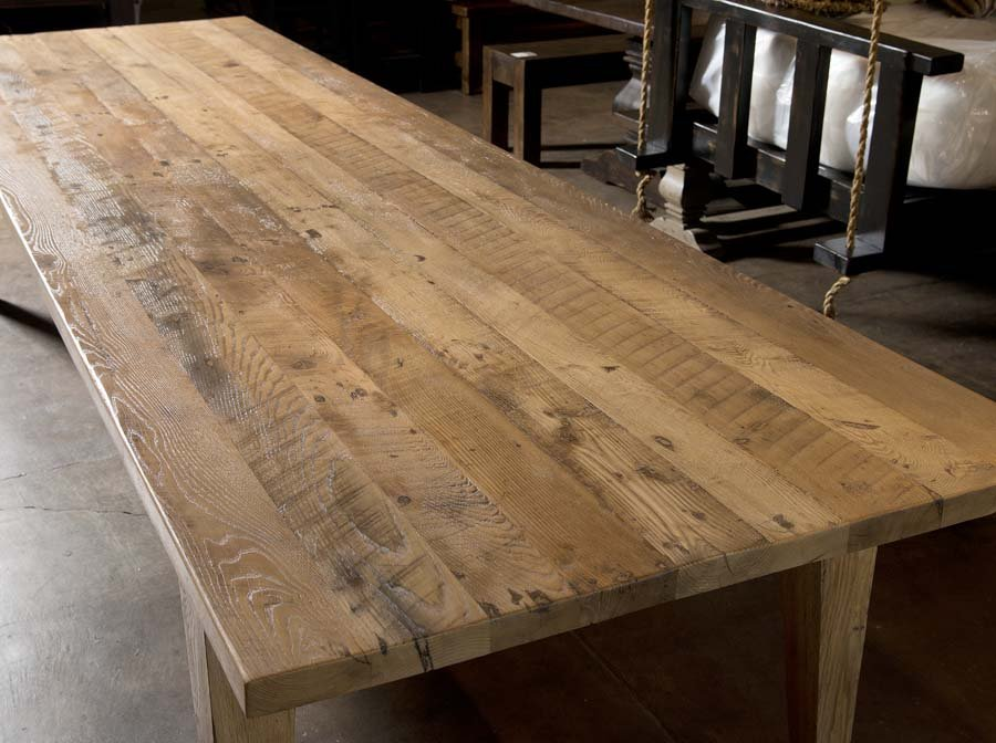 Reclaimed wood table Nashville