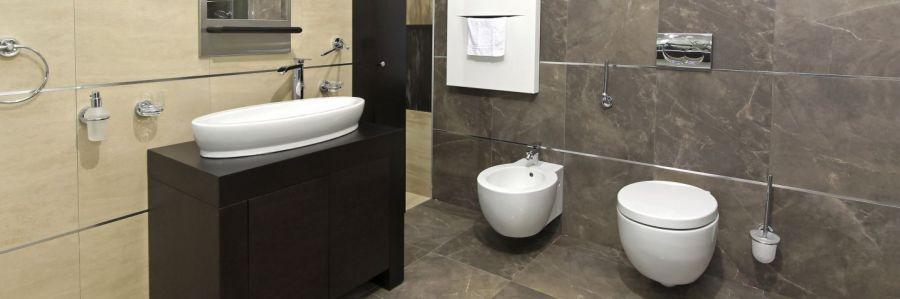 A bathroom after a tiler works on it in Dunedin