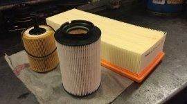 Cambio filtri dell'aria auto