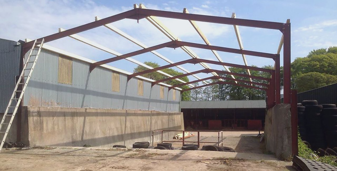 Steel Framed Sheds : Steel frame buildings by experts in northern ireland